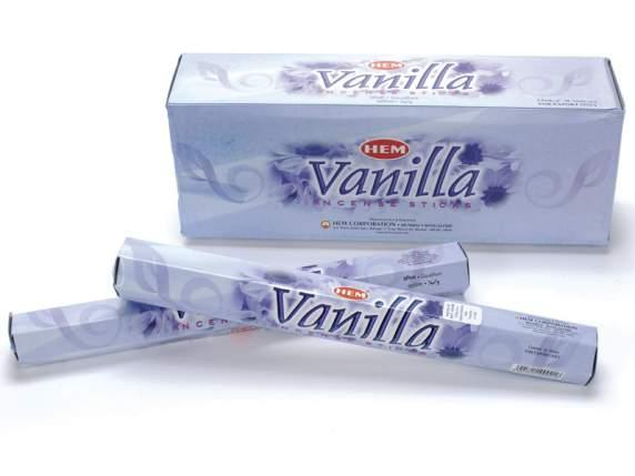 Räucherstäbchen Vanilla