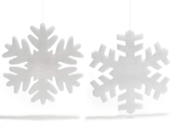 Snow flakes<br>crystal polyester