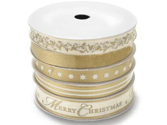Karácsonyi arany<br>szalagok beállítása