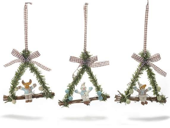 Christmas garland swing
