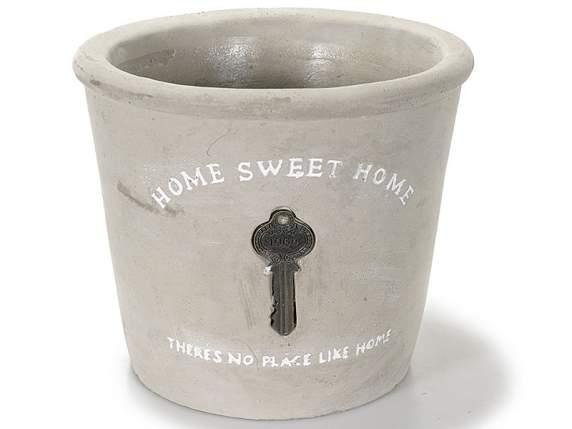 Vase Tür<br>Terrakotta-Töpfe