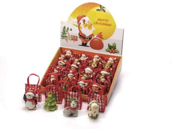 Charakter Boże<br> Narodzenie<br>dekoracyjne ceramika