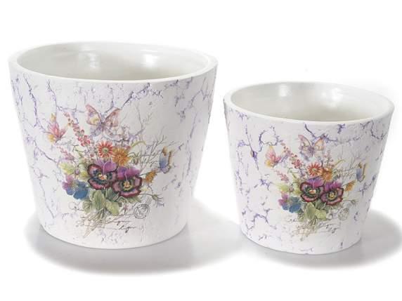 Keramikvasen<br>Blumenschmuck