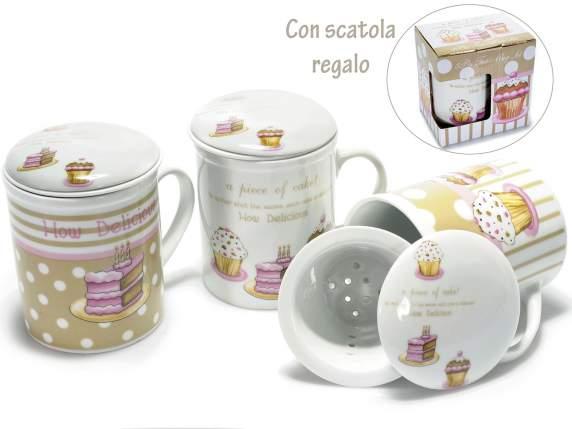 Porzellan Tasse Tee