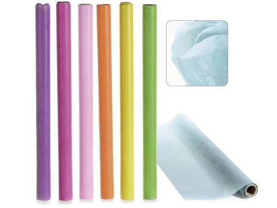 Rotoli Di Carta Colorata : Rotolo di carta velina colorata art from italy