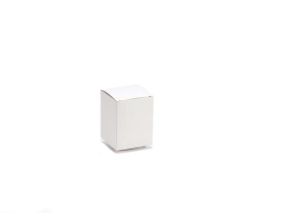 Small square ivory box