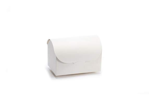Big ivory jewerly box in paper