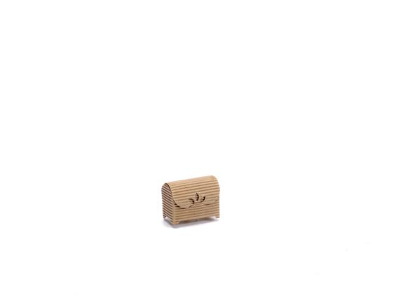 Natural paper jewerly box