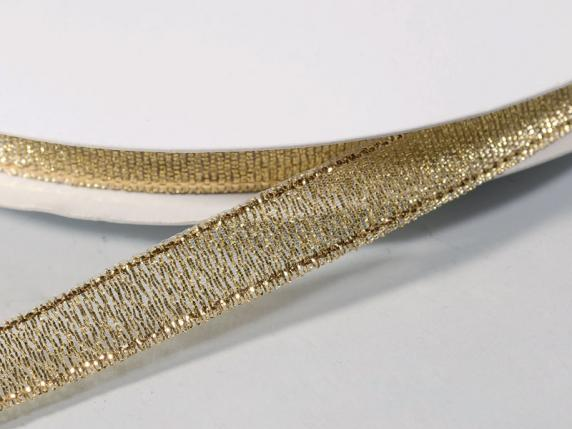 Lamè ribbon mm10x50mt gold