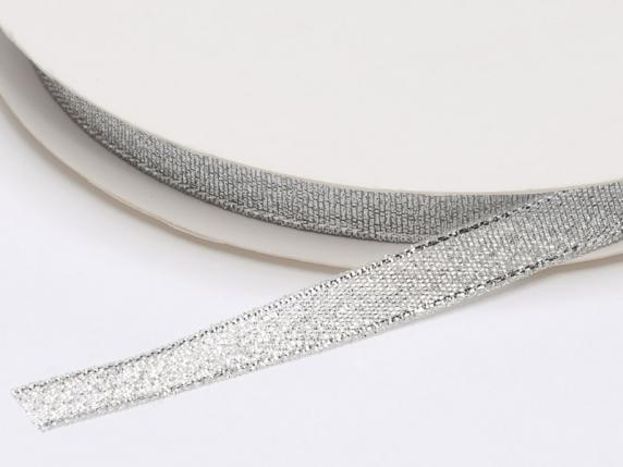Lamè ribbon mm10x50mt silver