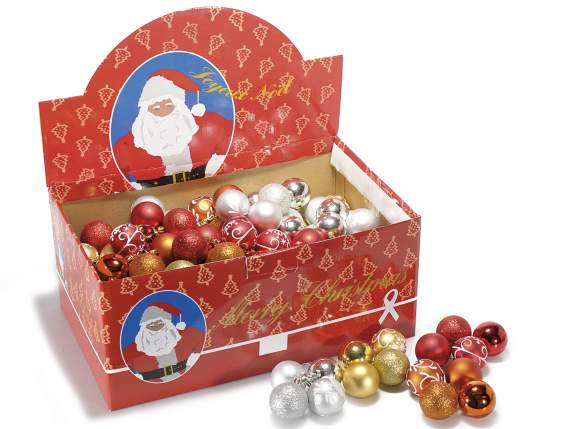 Presentoir 180 boules de Noel decoratives