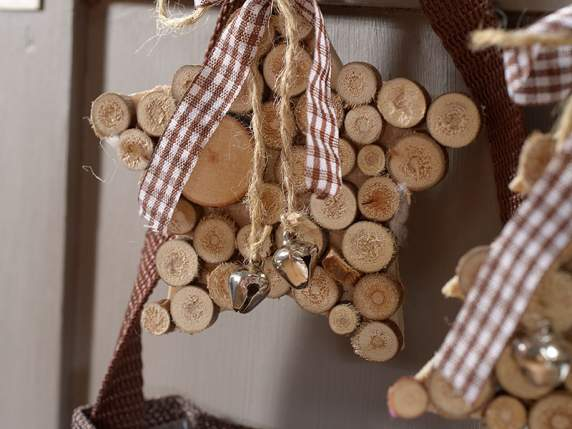 decoration de noel avec rondin de bois. Black Bedroom Furniture Sets. Home Design Ideas