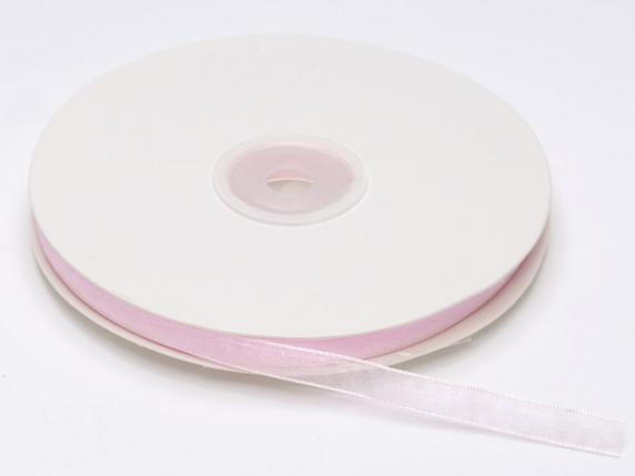 Organdie ribbon Poly mm 7x50 mt baby light pink