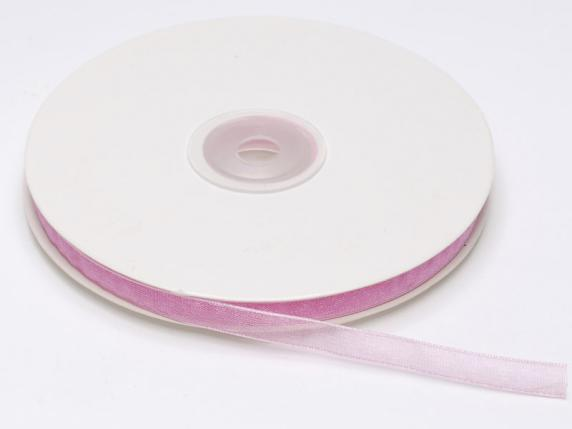 Organdie ribbon Poly mm 7x50 mt fuchsia