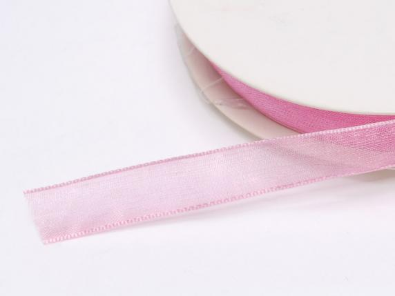 Organdie ribbon Poly mm 10x50 mt fuchsia