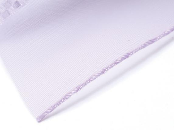 Organdie ribbon with string 38mmx50mt lilac