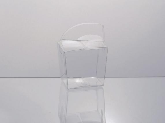 PVC square box with handle