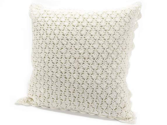 Crochet pillow covers