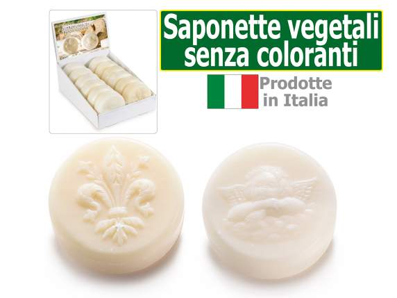 Saponetta vegetale 150 gr senza coloranti in espositore