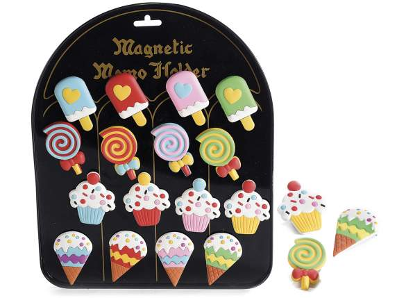 ''Sweet moments'' Gommoplà magnet in 16 pieces display