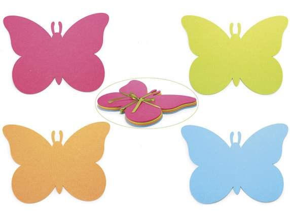 Confection 4 butterflies shaped table mates