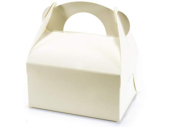 Top box ivory paper