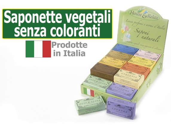 Vegetable no stain soap 150 gr in display