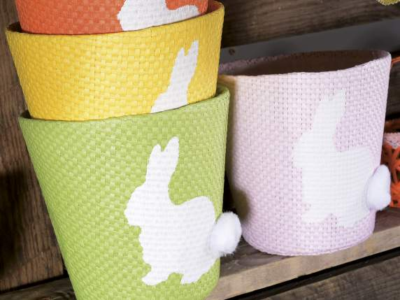 Easter paper pot with lining