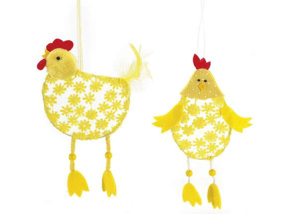 Easter hanging chicken