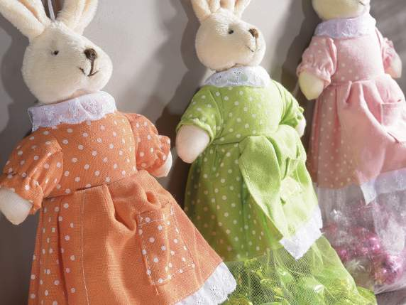 Fabric sachet rabbit shape