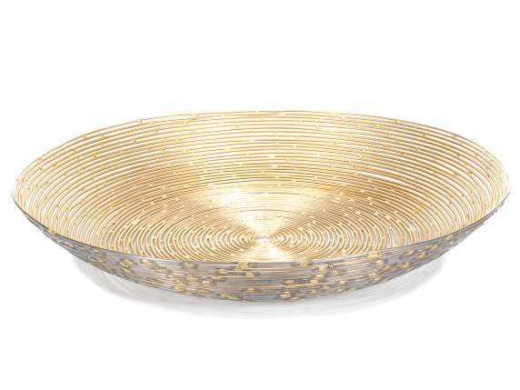 Metal chain bowl