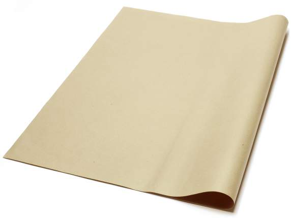 Conf of 50 sheets of natural wrapping. Cm 70 x 100