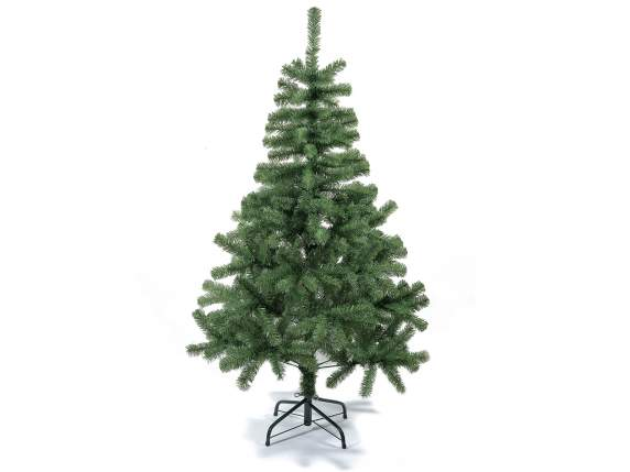 Artificial fir tree H 150 w-326 branches and metal base