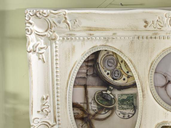 Hanging Baroque multi photo frame wall
