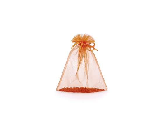 Organdie sachet with string