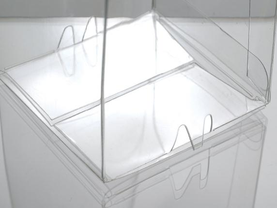 High rectangular pvc box