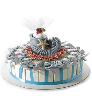Wholesale Sea Style Favour Cake Accessories Art From Italy
