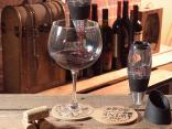 Appetizer and coasters: wine accessories