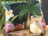 Tropical beauty: candele profumate e astucci