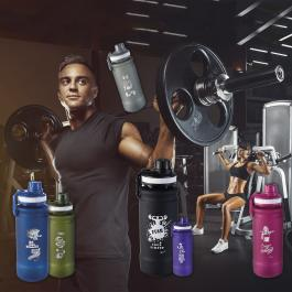 Bottiglie fitness, il workout del design